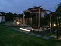 Gartenbeleuchtung im Garten vom Ferienhaus Deichkrönchen